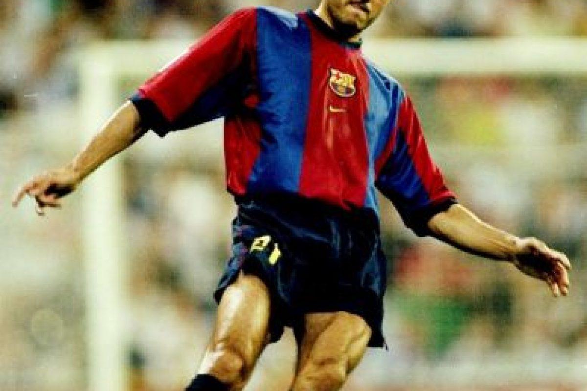 En Barcelona jugó entre 1996 y 2004 Foto:Getty Images