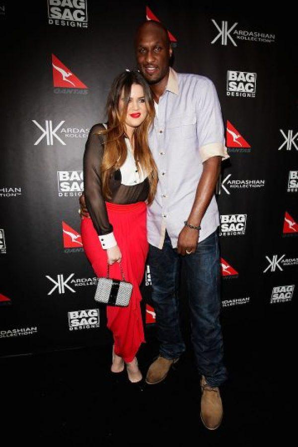 Khloé y Lamar se casaron el 27 de septiembre de 2009. Foto:Getty Images
