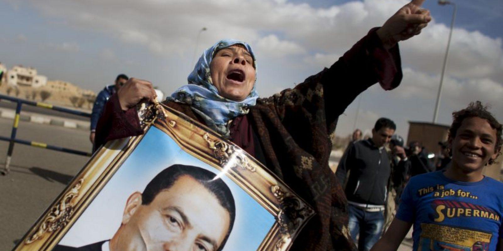 Hasta el momento Mubarak continúa en arresto domiciliario, el cual comenzó desde 2013. Foto:Getty Images