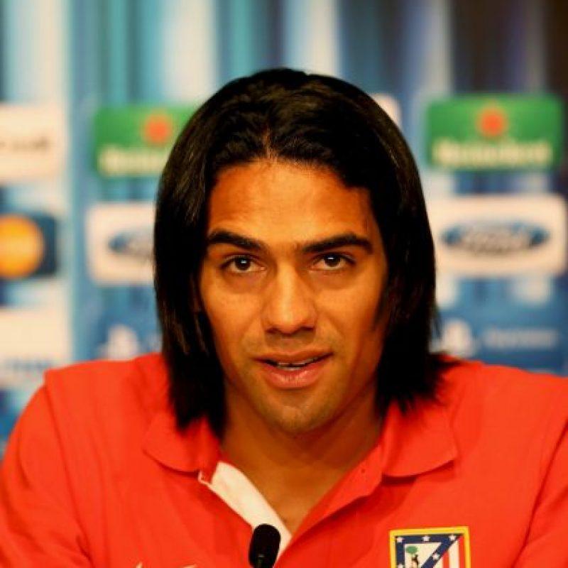 """Una de las características principales de Radamel Falcao era su melena, la cual no era """"tan mala""""… Foto:Getty Images"""
