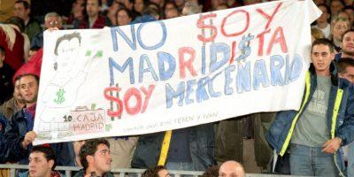 """Desde entonces, los """"culés"""" recibieron con hostilidades al portugués en el Camp Nou. Foto:Getty Images"""