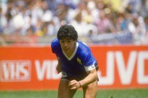 """En este partido ocurrieron dos eventos importantes: """"La Mano de Dios"""" y el """"Gol de Siglo"""", ambos tantos marcados por Diego Armando Maradona. Foto:Getty Images"""