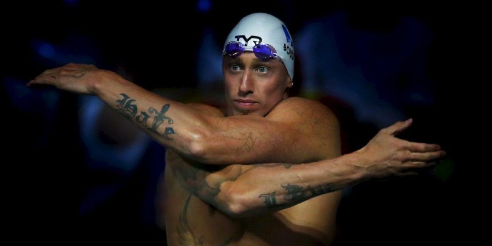 En 2008 consiguió la plata olímpica en la prueba de 4×100 metros estilo libre. Foto:Getty Images