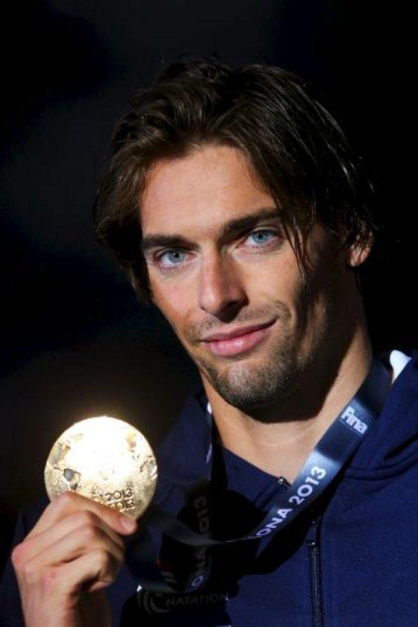Es especialista en nado estilo espalda. Foto:Getty Images
