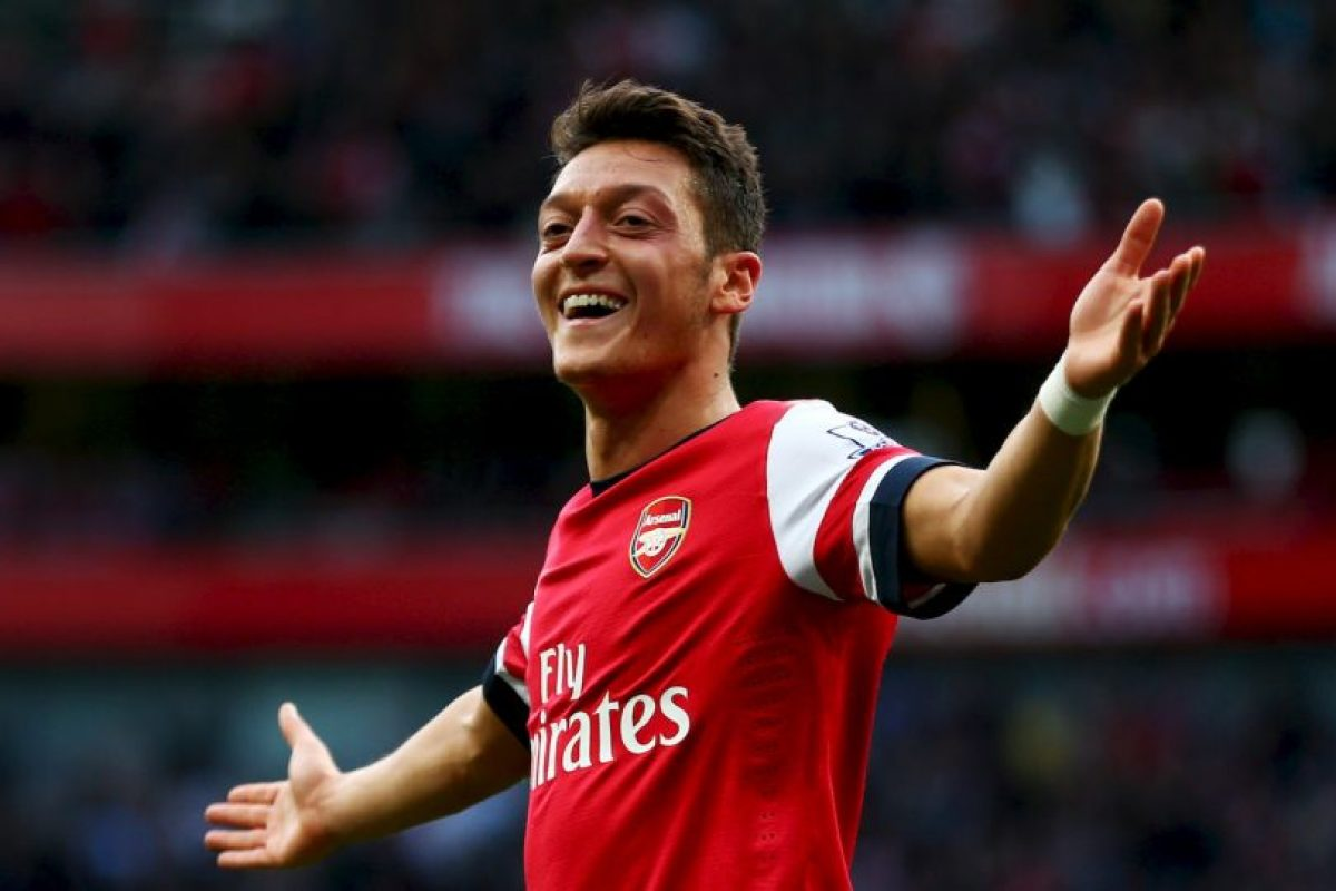 3. Mesut Özil Foto:Getty Images