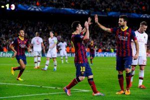 En la vuelta, Messi guió la voltereta con un doblete para que los culés se impusieran 4-0 Foto:Getty Images