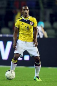 MEDIOS: Fredy Guarín (Colombia) Foto: Getty Images