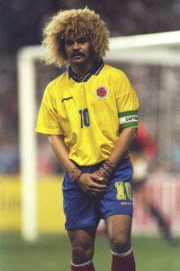 5. Carlos Valderrama (Colombia) / 27 partidos. Foto:Getty Images