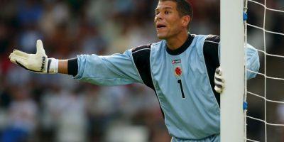 El récord de impasibilidad en todas las Copa América lo tiene el portero colombiano Óscar Córdoba. No recibió ni un sólo gol en la edición de Colombia 2001, en la que su selección se coronó campeona. Foto:Getty Images