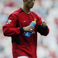 """Cristiano Ronaldo no siempre fue tan """"glamouroso"""" como en la actualidad. En sus primeros años no vestía bien y sus cortes de cabello no eran los mejores. Foto:Getty Images"""