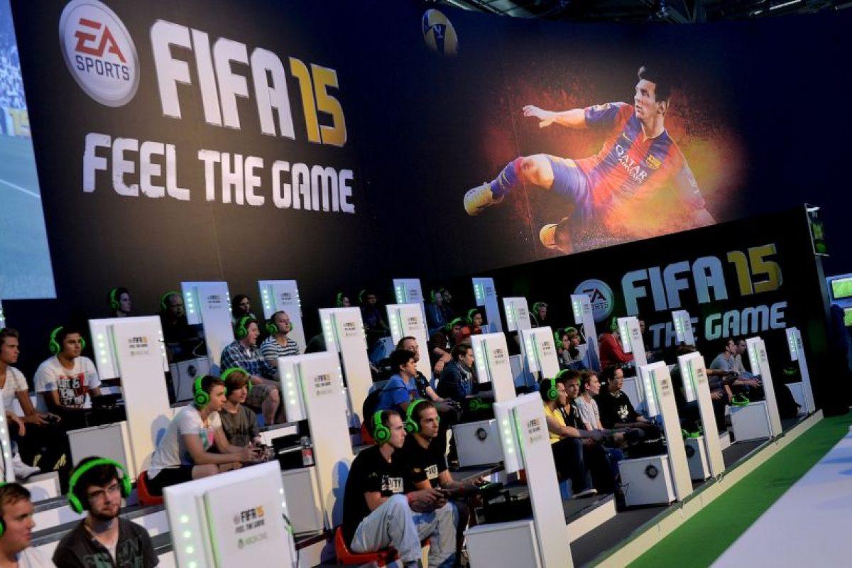 El videojuego oficial de la FIFA, del mismo nombre, será víctima de boicot por parte de estudiantes ingleses en protesta por la reelección de Joseph Blatter. Foto:Getty Images