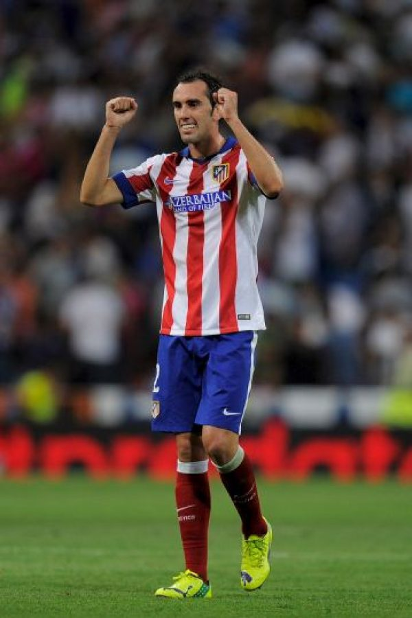CENTRAL: Diego Godín (Atlético de Madrid/Uruguay) Foto: Getty Images