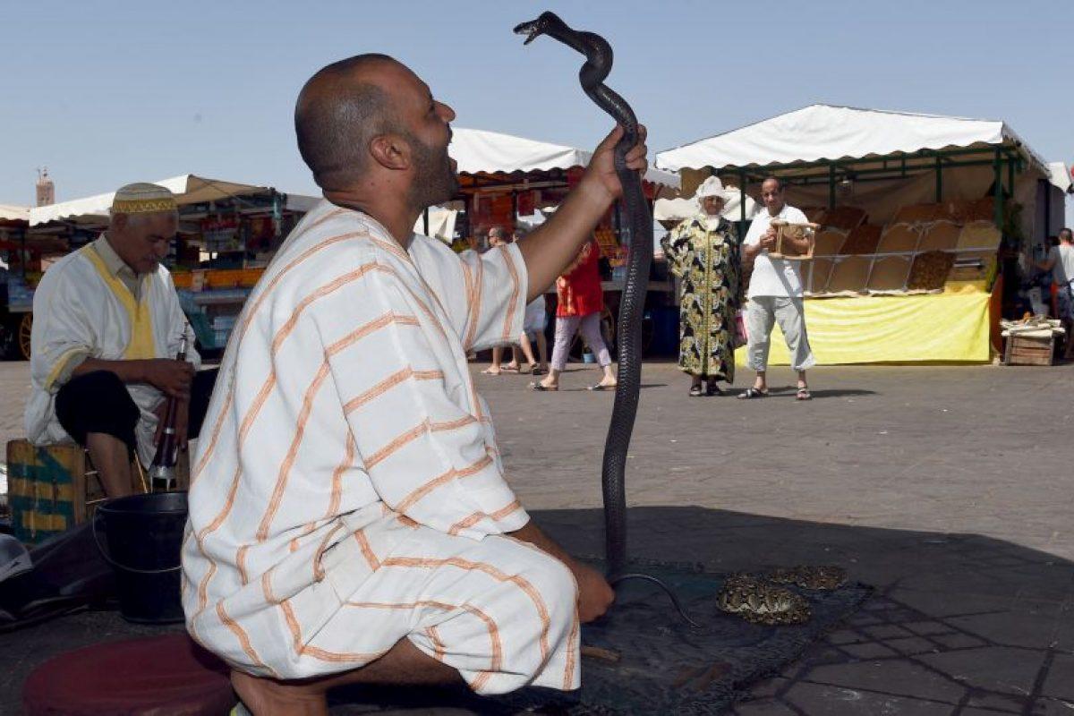 O como método de autodefensa. Foto:Getty Images