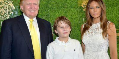 El polémico magnate y Melania son padres de Barron Trump. Foto:Getty Images