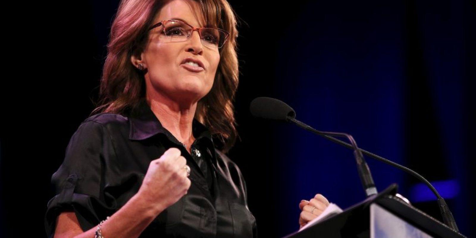 En 2008 competía por la Vicepresidencia junto a John McCain. Foto:Getty Images