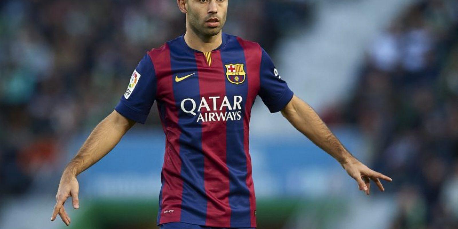 """El """"Jefecito"""" seguirá cumpliendo su papel como central en el Barcelona que no desea dejar de conseguir títulos. Foto:Getty Images"""