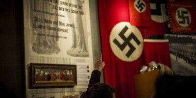 """Su principal exponente fue Adolfo Hitler, y a la Alemania de esta época fue conocida como la """"Alemania Nazi"""". Foto:Getty Images"""