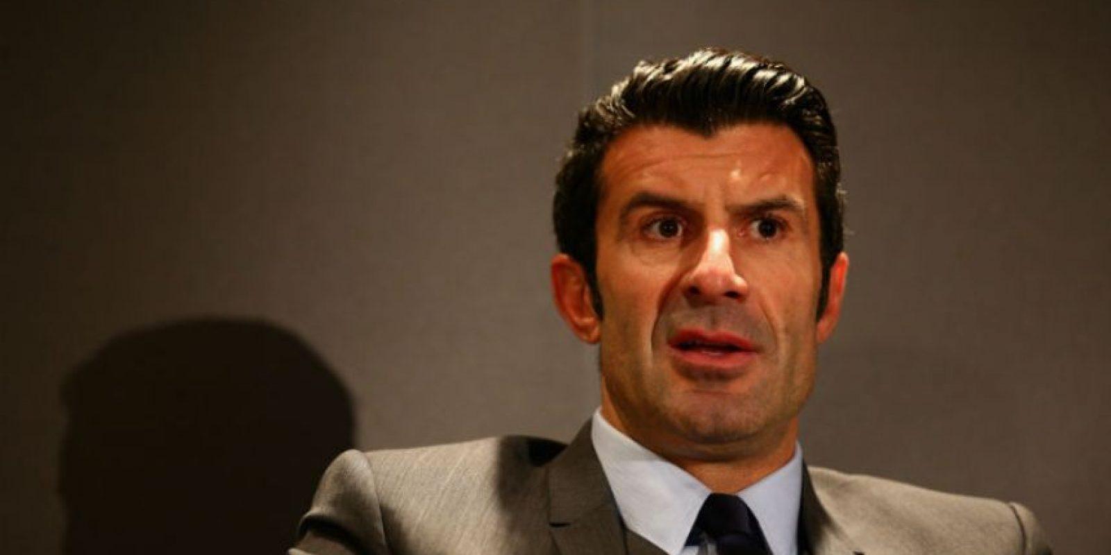 El exfutbolista luso participó en la fase previas de las elecciones. Foto:Getty Images