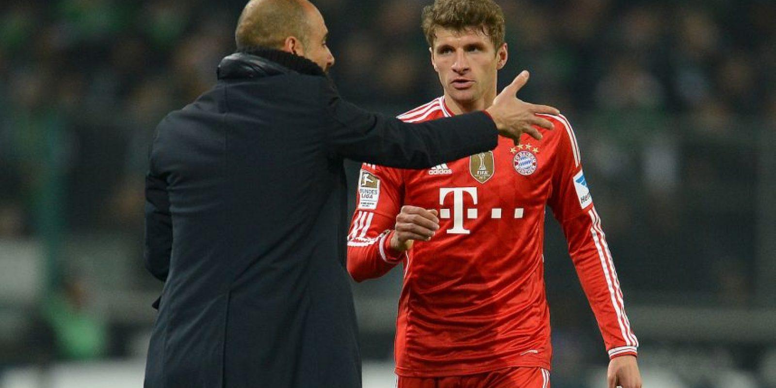 Explotó contra Thomas Müller durante un entrenamiento del Bayern Munich. Foto:Getty Images