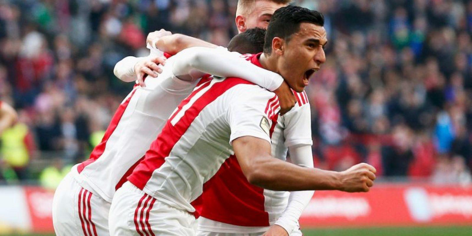 "El Ajax de Ámsterdam logró el ""trébol"" en 1972. El rumano Stefan Kovacs era el entrenador Foto:Getty Images"
