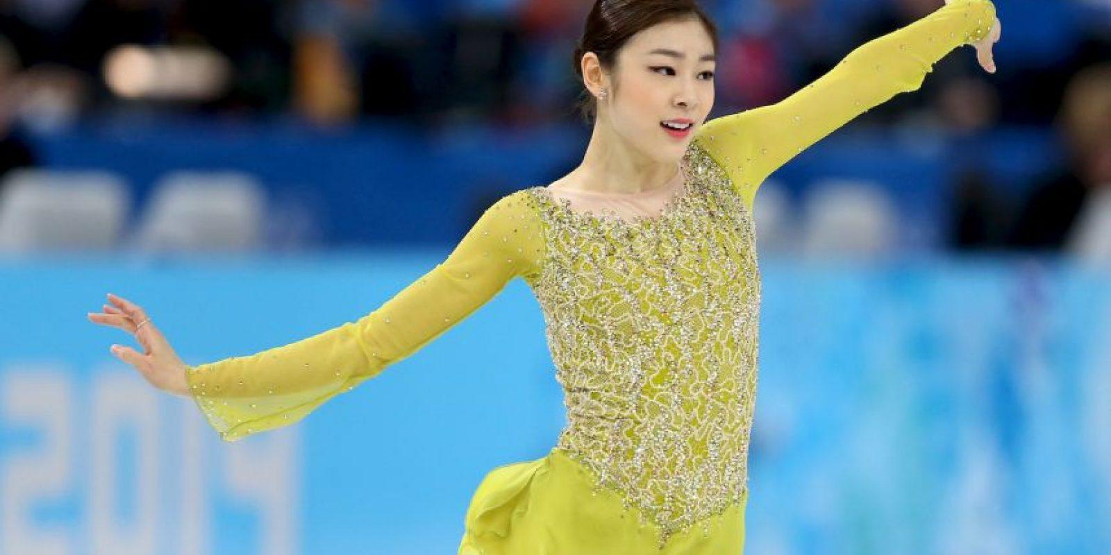 4. Yuna Kim. La patinadora artística de Corea del Sur es embajadora de buena voluntad de la UNICEF Foto:Getty Images