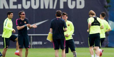 En su primera temporada en la banca del Barcelona consiguió el triplete Foto:Getty Images