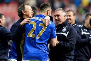 Tras el fin de la temporada, el Leicester City partió a Tailandia para una gira por el país asiático. Foto:Getty Images