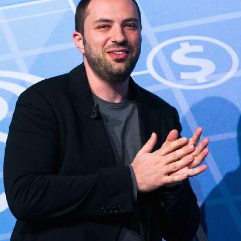 Nacido en Ucrania, Jan Koum fundó WhatsApp junto a Brian Acton en 2009. En 2014 la app fue vendida a Facebook, pero sigue siendo su director ejecutivo. Foto:Getty Images