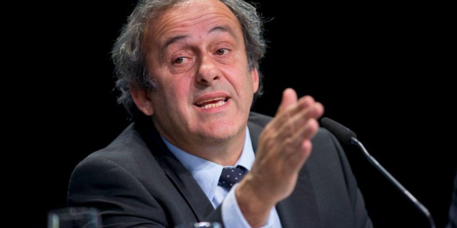 Es el presidente de la FIFA. Foto:Getty Images