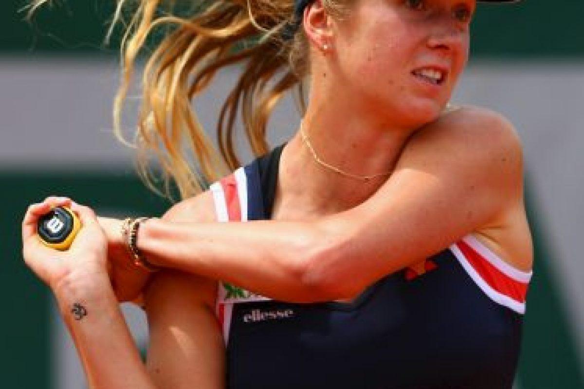En 2013 llegó a ser la tenista número 62 del mundo Foto:Getty Images