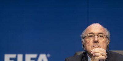 Joseph Blatter fue reelecto presidente de la FIFA este 29 de mayo. Foto:Getty Images