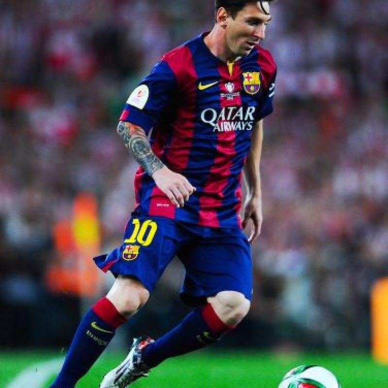 Lionel Messi ha ganado tres finales con el Barcelona Foto:Getty Images