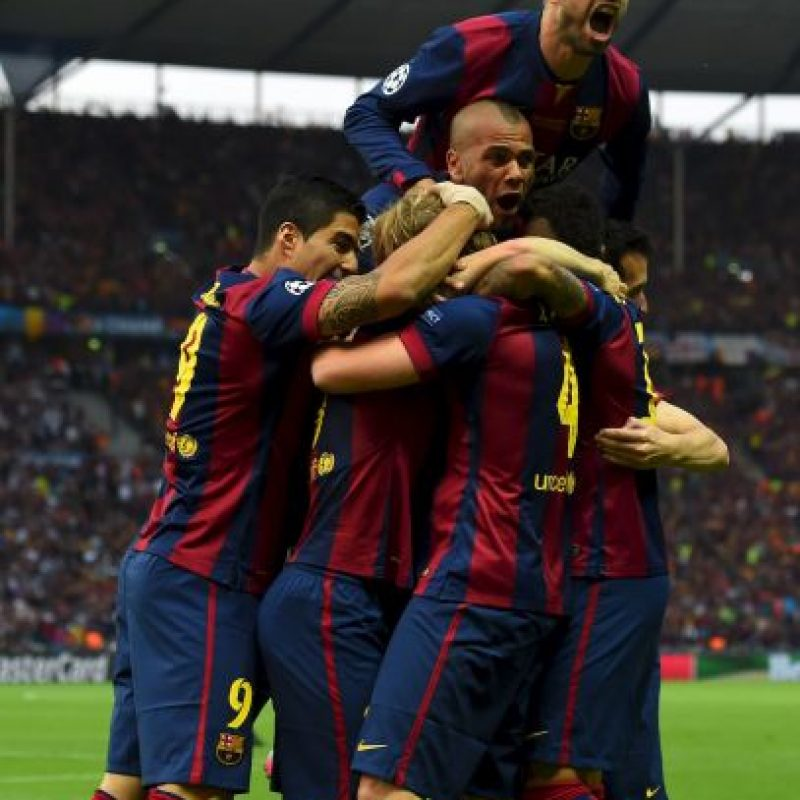 Celebrando el primer gol Foto: Getty Images