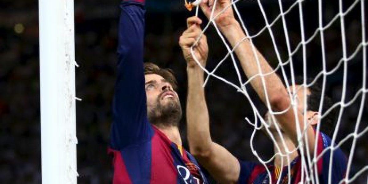 La fiesta de Piqué con Shakira después de ganar la Champions