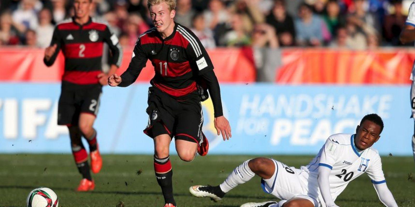Y actualmente participa en el Mundial Sub-20 con la Selección de Alemania. Foto:Getty Images