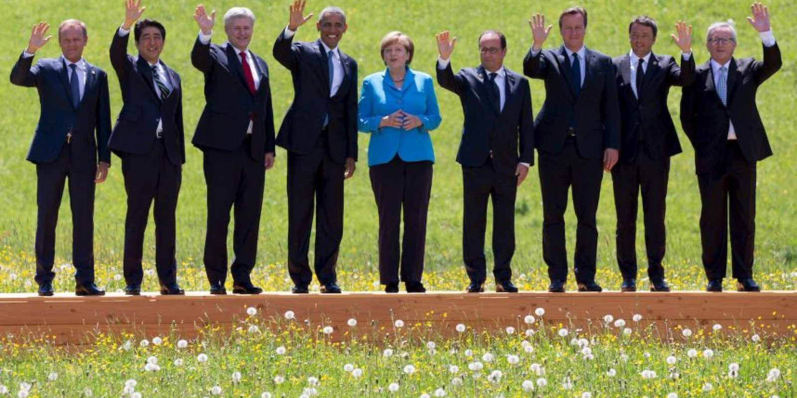 Inicia la cumbre del G7 Foto:Getty Images