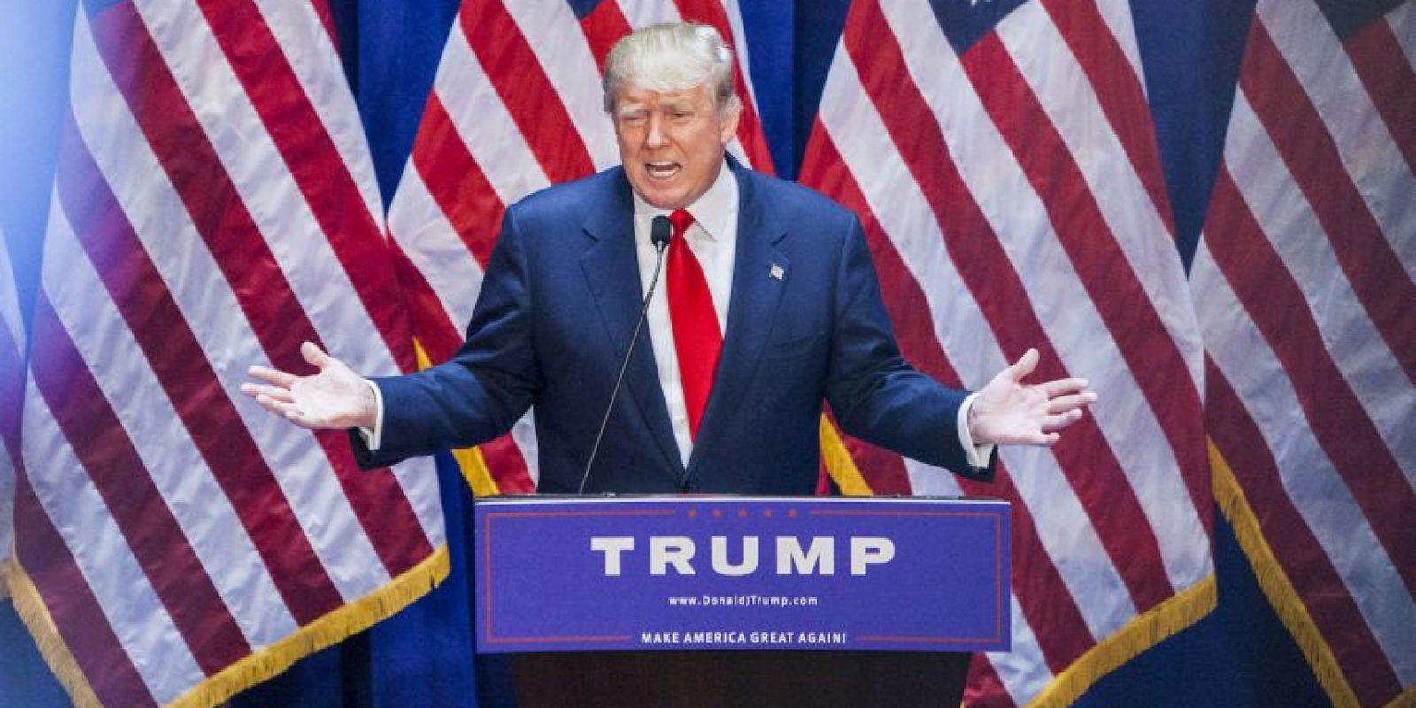 """Donald Trump, precandidato a la presidencia de los Estados Unidos y dueño de """"Miss Universo"""" causó controversia al lanzar comentarios ofensivos sobre los inmigrantes mexicanos. Foto:Getty Images"""