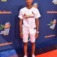 9. Mo'ne Davis. La niña beisbolista creó una línea de zapatillas para ayudar a pequeñas de escasos recursos. Foto:Getty Images