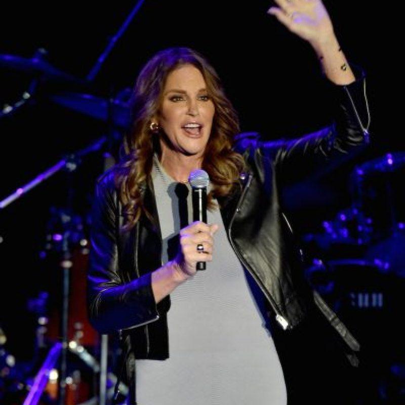 Por primera vez desde que inició su transformación, Caitlyn Jenner hizo una aparición en un programa de entrevistas. Foto:Getty Images
