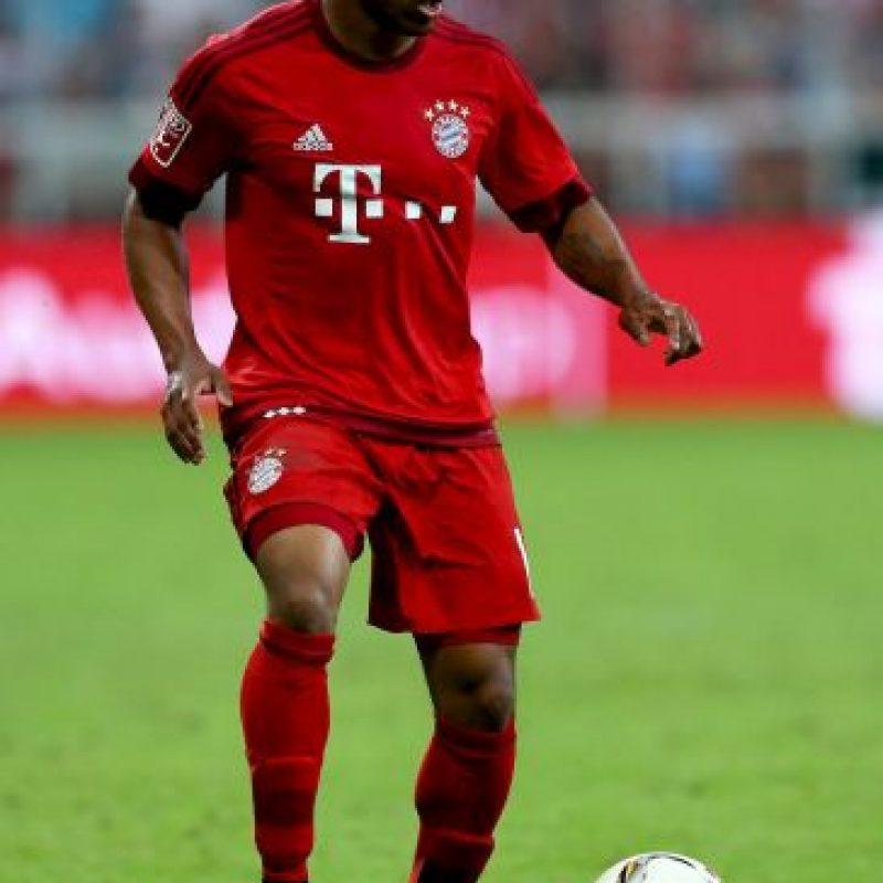 Este extremo brasileño brilló en el Shakhtar de Ucrania de 2010 a 2015, y es una de las apuestas de talento en el Bayern de Guardiola que lo llevó a la Bundesliga por 30 millones de euros. Foto:Getty Images