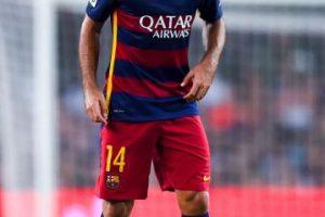 CENTRAL: Javier Mascherano (Barcelona/Argentina) Foto:Getty Images