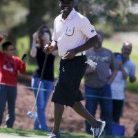 Tiene su propio auto de golf Foto:Getty Images