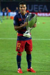 La temporada pasada no fue titular para Luis Enrique, pero sí lo utilizó como cambio recurrente por lo que este año, el brasileño buscará ganarse un lugar en el 11 titular del Barça. Foto:Getty Images