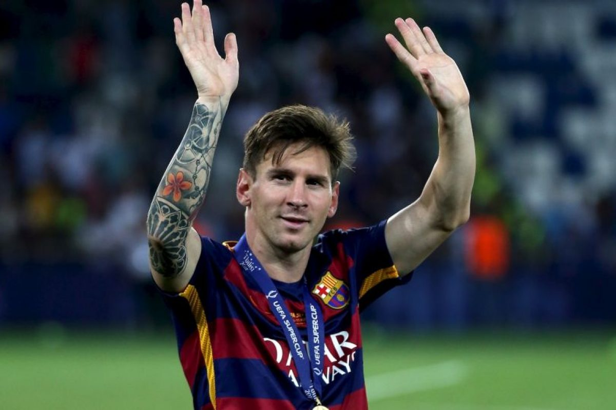 EXTREMO DERECHO: Lionel Messi (Barcelona/Argentina) Foto:Getty Images