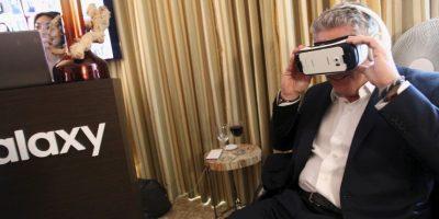 """Como lo son los lentes de realidad virtual """"Gear VR"""" Foto:Getty Images"""
