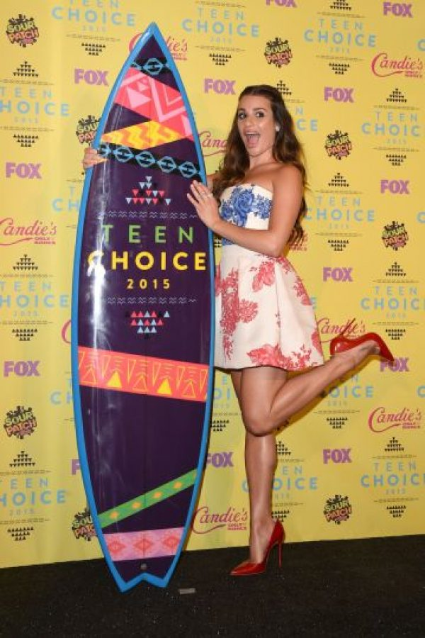 Se llevó el reconocimiento a Mejor actriz de comedia, y lo festejó de manera muy divertida Foto:Getty images
