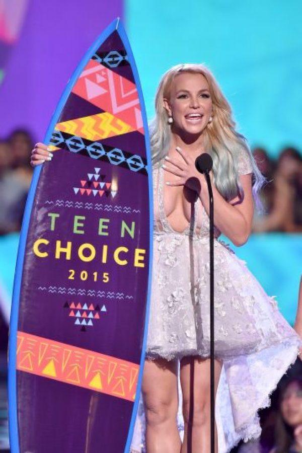 Britney Spears fue la ganadora en la categoría de moda Foto:Getty images