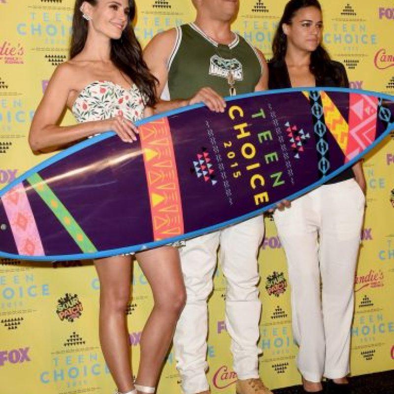 """Un emocionado Vin Diesel, volvió a recordar a su amigo Paul Walker durante la ceremonia de los """"Teen Choice Awards 2015"""" Foto:Getty images"""