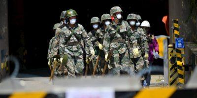 En lugares cercanos a la Zona Cero, continúan las labores de rescate de cuerpos Foto:Getty Images