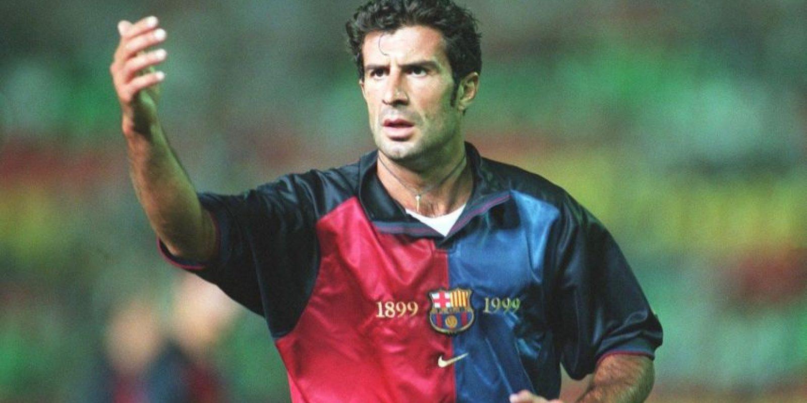 Entonces, Figo se convirtió en un ídolo para el Barcelona y en el símbolo del antimadridismo. Foto:Getty Images